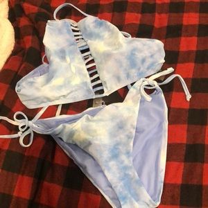 NASTY GAL NWT Drawstring Bikini SZ 12